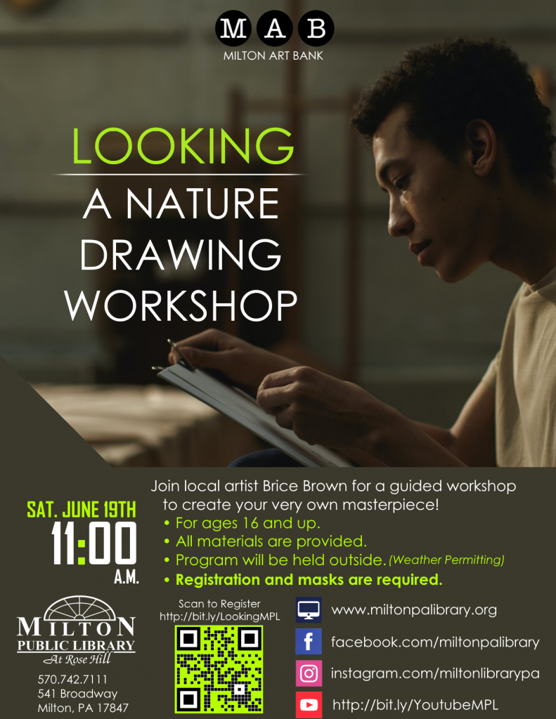 Looking: A Nature Drawing Workshop