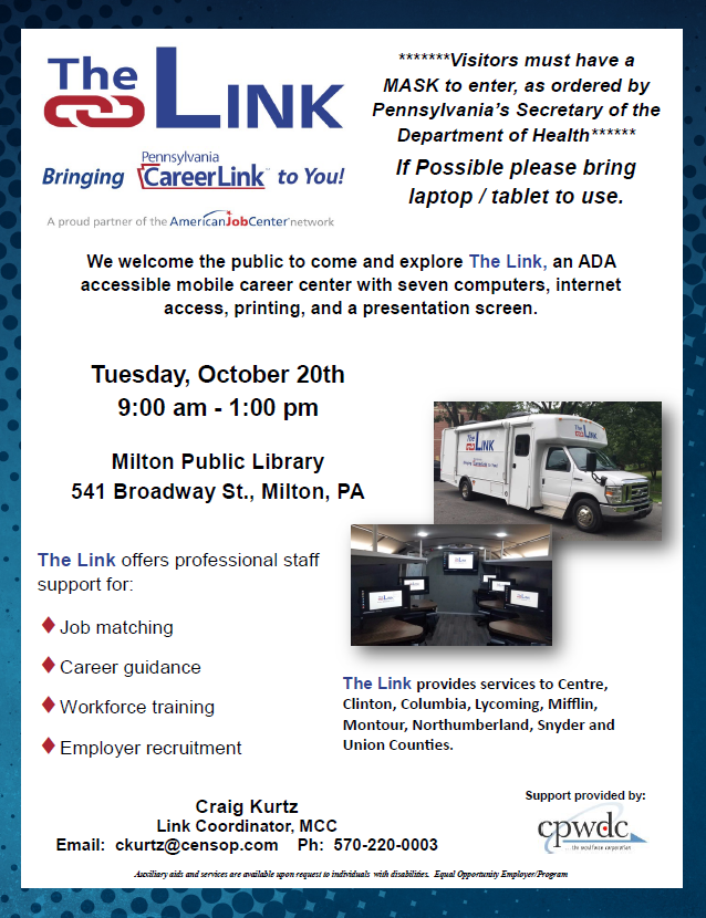 Career Link @ the Library