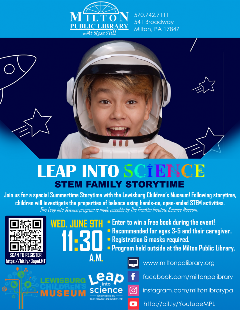 Leap Into Science - STEM Family Storytime