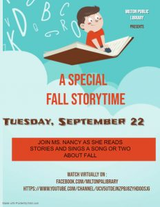 A Special Fall Storytime