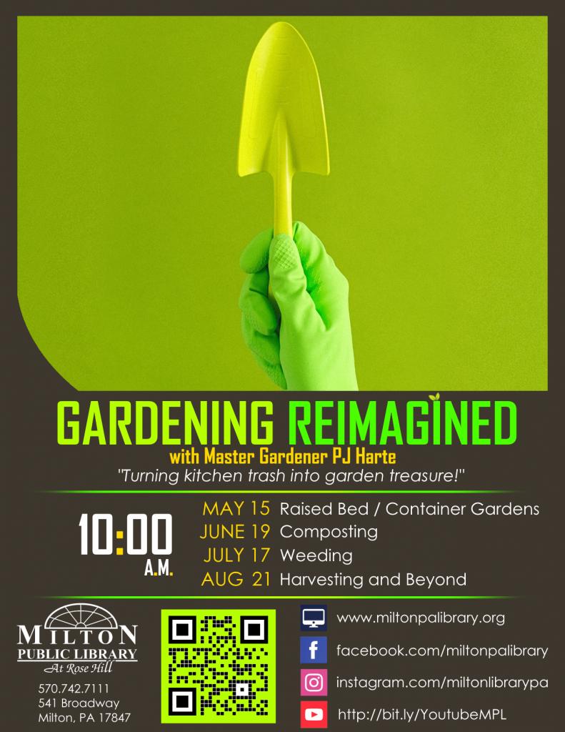 Gardening Reimagined with Master Gardener PJ Harte