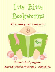 Itty Bitty Bookworms