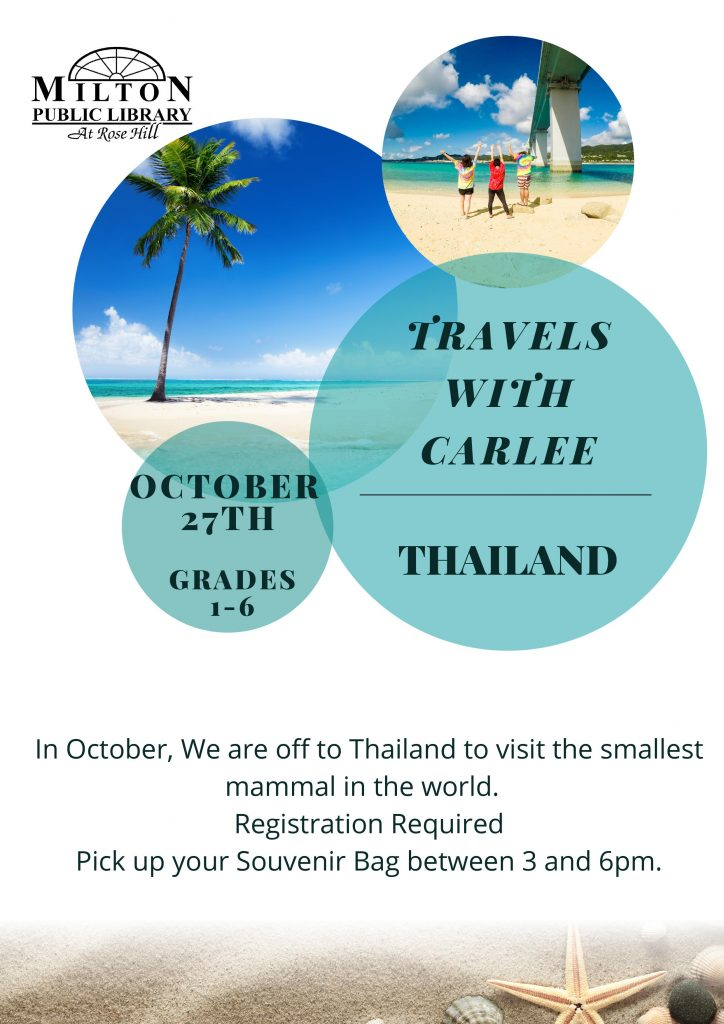 Travels with Carlee - Thailand