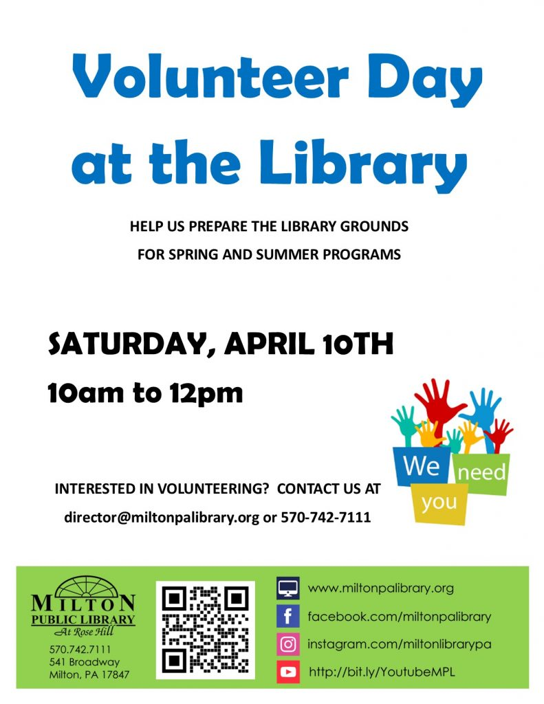 Volunteer Day at the Library