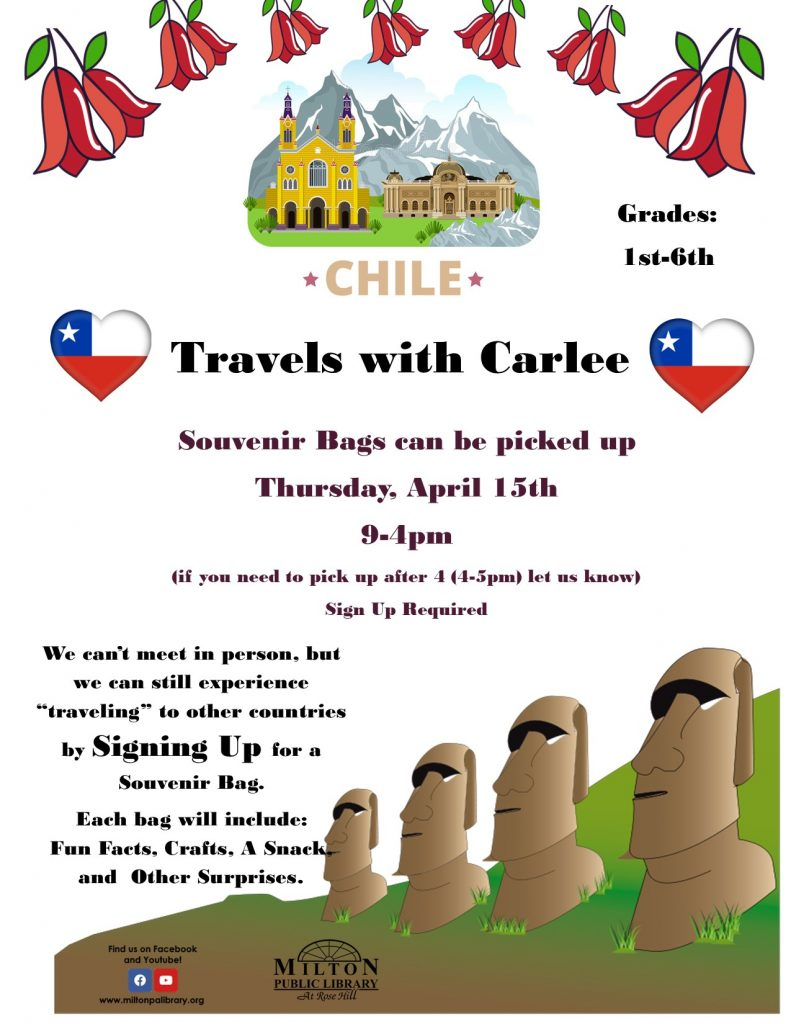 Travels with Carlee - Chile