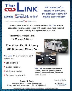 Mobile Career Link Visits the Library!