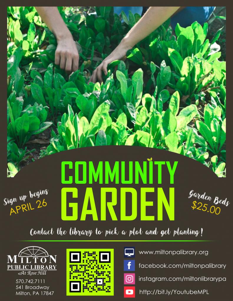 Community Garden Registration