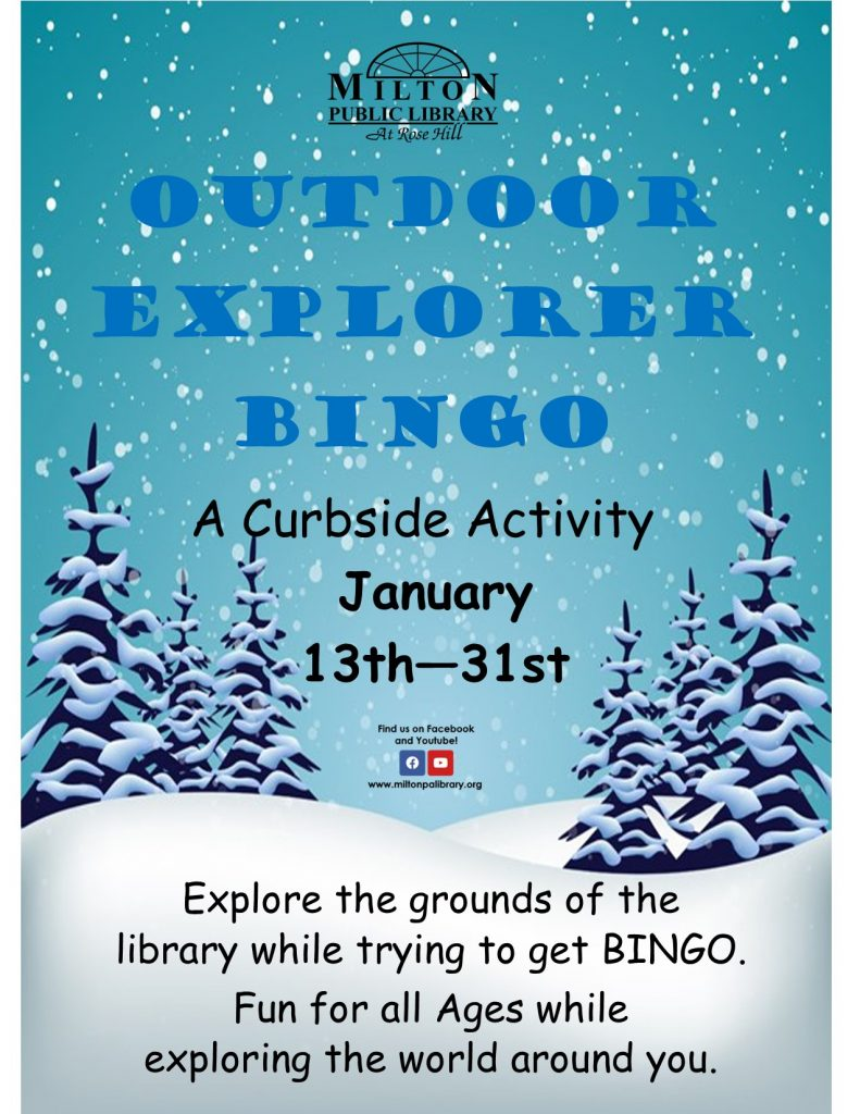 Outdoor Explorer Bingo