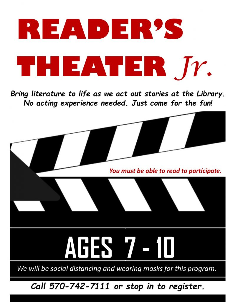 Reader's Theater Jr. (Sign Up)
