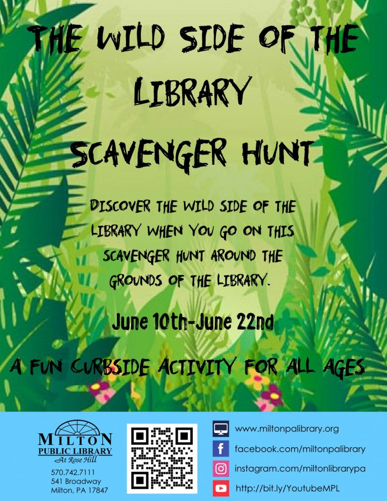 The Wild Side of the Library Scavenger Hunt