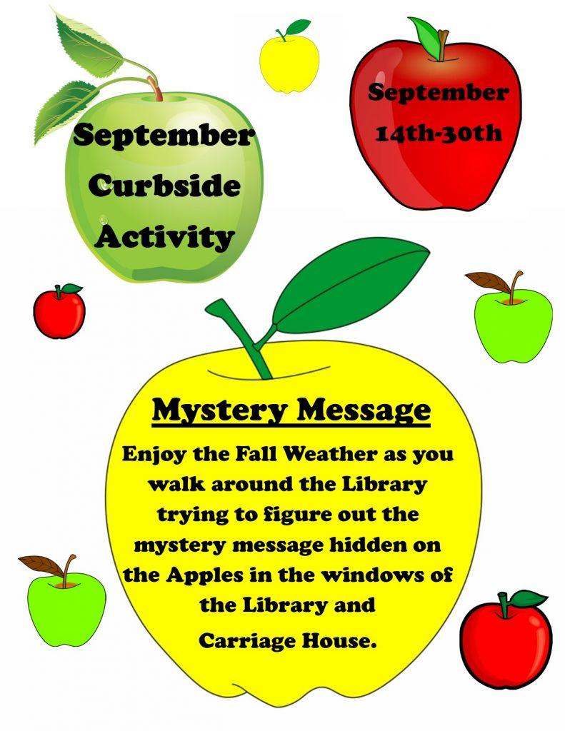 September Curbside Activity