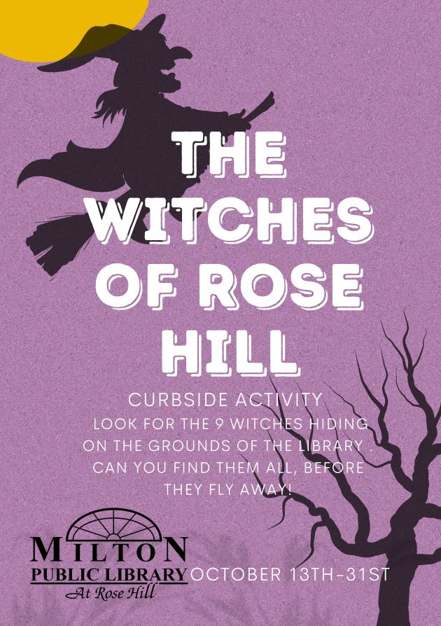 the witches of rose hill flyer